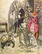 """New artwork for sale! - """" Tortoise Hare P by Arthur Rackham """" - http://ift.tt/2oAy8GH"""