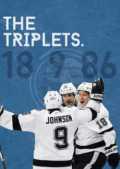 Love the Tampa Bay Lightning triplet line