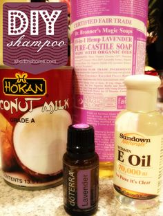 Make Your Own Shampoo Tutorial-Make Your Own Shampoo DIY Ideas