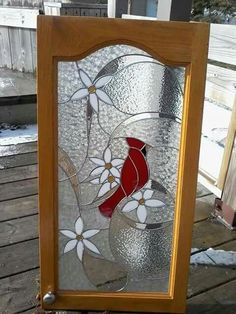 Glass Shelves For Curio Cabinet Stained Glass Light, Stained Glass Paint, Stained Glass Suncatchers, Stained Glass Panels, Stained Glass Projects, Stained Glass Cardinal, Stained Glass Flowers, Stained Glass Patterns Free, Stained Glass Designs