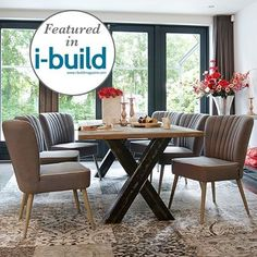 Our beloved dining chairs are on the @ibuildmagazine 'i-build loves' ! And we are soo happy about this. This lovely chairs come in different fabrics - so pick your favourite @modishliving #featured #diningroomdesign #homedesignideas #dining_room #dining #home #homeinteriors #interiors #homedecor #furnituredesign #design #christmastable #partytable #diningtabledecor #tabledesign #getthelook #howtostyle #stylingtips #stylingtips #diningchair #greychair