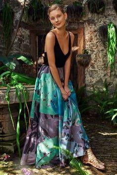 Geisha Designs Pintura Ball Skirt