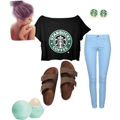 Untitled #2 by amarawilson on Polyvore featuring polyvore fashion style Birkenstock Eos