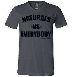 Naturals vs Everybody V-Neck T-Shirt
