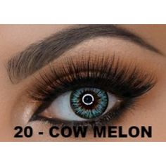 MELON Green Contact lenses Colours of the Wind - 1 Year (Pair) #bestcontactlenses #awesomecontactlenses #melongreen