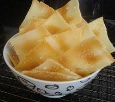 Cozinha sem glúten e sem leite: Crackers - Biscoitos Salgados