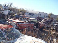 Arizona junkyard
