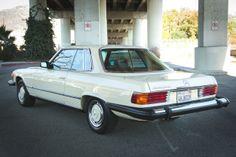 Mercedes Motoring - 1976 450SLC Gasoline Coupe