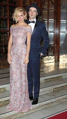 Siena Miller and Tom Sturridge ; London Evening Standard Theatre Awards