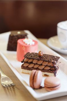 afternoon chocolate delight from Niji Bistro, Hong Kong