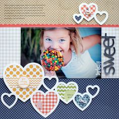 {A Million Memories}: NEW Lily Bee Designs NEW COLLECTIONS Love the hearts.
