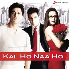 Kal Ho Naa Ho Kal Ho Naa Ho - Indian Music #IndianMusic Srk Movies, Hindi Movies, Bollywood Stars, Yash Johar, Kal Ho Na Ho, Shankar Mahadevan, Best Bollywood Movies, Bollywood Celebrities, Songs