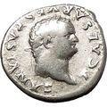 TITUS Ancient Silver Roman Coin Ceres Agriculture Grain crops Fertility i53363