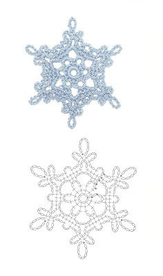 guest at Patsy: Christmas frescoes – Snowflakes World Crochet Snowflake Pattern, Crochet Stars, Christmas Crochet Patterns, Crochet Snowflakes, Crochet Flowers, Christmas Knitting, Crochet Diy, Crochet Wool, Crochet Winter