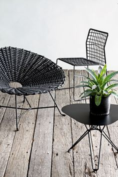Gervasoni 'Sweet 27' chair by Paola Navone (left)