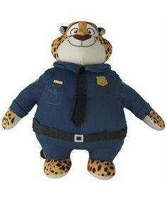"ToyHo.com - Disney Zootopia 10"" Plush Officer Clawhauser"