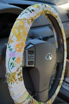 Boho Steering Wheel Cover Car Accessories – Your Family's SUVs That We … – Car stickers Hippie Auto, Volkswagen, Vw Bus, Car Interior Decor, Car Interior Design, Vintage Hippie, Scion Tc, Girly Car, Car Essentials