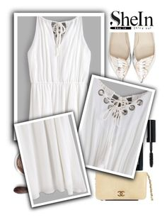 """""""◇LIGHT SOFT◇"""" by tamsy13 ❤ liked on Polyvore featuring Bare Escentuals, Chanel, Sophia Webster, Bobbi Brown Cosmetics and shein"""