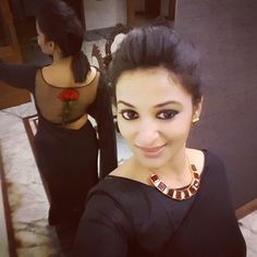 #blouse#black #red #combination#labelm