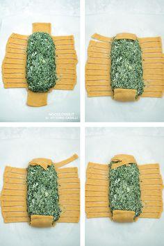 Strudel intrecciato con ricotta e spinaci Un classico tra i rustici, dal ripieno morbido in crosta croccante! La ricetta su http://noodloves.it/strudel-intrecciato-ricotta-spinaci/ (e il tutorial per preparare l'intreccio) #Strudel #StrudelSalato #Tutorial #StepbyStep #Rustico #RicottaeSpinaci #Spinaci #Buffet #ComfortFood #Ricetta