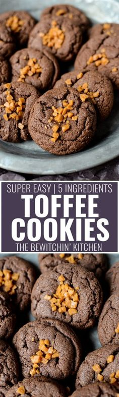 Toffee Cookies - thi