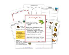 FREE Animal Kingdom Pack- hands-on activities to work on animal grouping- 1st/2nd grades | This Reading Mama