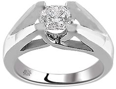 .60 Carat Bryanne Diamond 14Kt White Gold Engagement Ring - Fashion