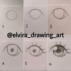 Manga Drawing Techniques How to draw anime eyes - Drawing Techniques, Drawing Tips, Drawing Reference, Drawing Sketches, Sketching, Drawing Ideas, Hair Styles Drawing, Drawing Style, Hair Reference