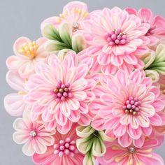 kanzashi flower (Japanese Tsumami Kanzashi) 8151 in box