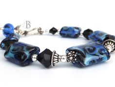 Therese Lampwork Bracelet