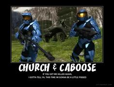 Chuch and Caboose