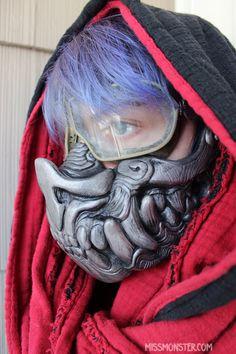 Bat Mask! http://missmonster.myshopify.com/