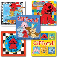 CPUP - Clifford™ Puppy Days Stickers