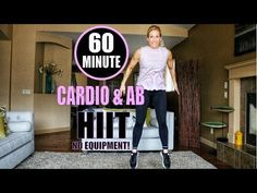 60 Minute Full Body & Cardio HIIT | No Equipment Workout! | Low Impact Mods Included - YouTube