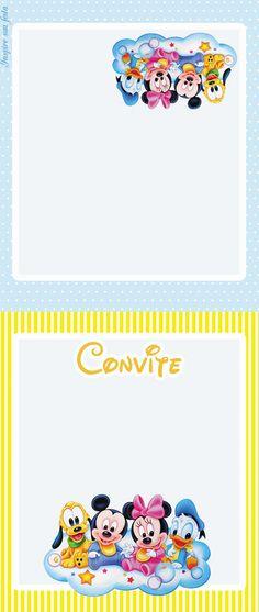 Disney Baby Meninos – Kit digital gratuito – Inspire sua Festa ®