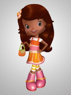 Strawberry Shortcake's Berry Bitty Adventures (TV show)  Orange Blossom is voiced by Janyse Jaud