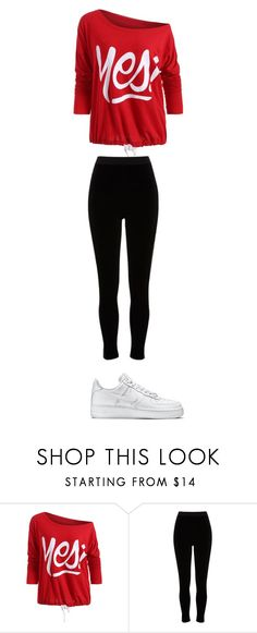 """cute #2"" by ottoca on Polyvore featuring River Island and NIKE"