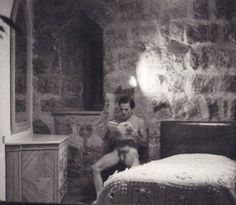 Pier Paolo Pasolini by Dino Pedriali, 1975 Pier Paolo Pasolini, I'm A Believer, Cinema, Male Figure, Special People, Book Worms, Naked, Portrait, Film