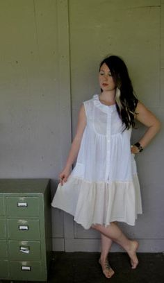 Eco upcycled clothing Tattered urban dress Romantic Artsy dress Lagenlook Magnolia Pearl inspired dress  cowgirl Large-XLarge-1X