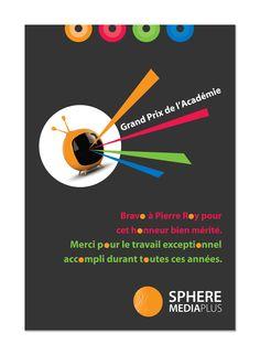Grand Prix de l'académie - Bravo!  /// www.cyan-concept.com /// www.facebook.com/cyanconcept.graphisme Grand Prix, Cyan, Bravo, Passion, Facebook, Graphic Design