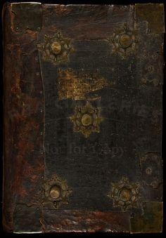 Manuscript Gradual on paper, in medieval calf & wood binding  Spain, ca. 1475.