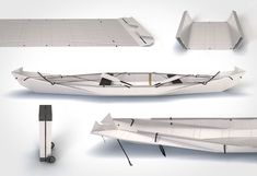 Access to urban waterways unfolds like never before with the Onak Foldable Canoe. We live in a city with one of the best urban rivers for trout fishing, but the best spots are only accessible by bo… Gone Fishing, Best Fishing, Folding Canoe, Duck Boat Blind, Kayak Boats, Fishing Adventure, Diy Boat, Canoe Trip, Canisters