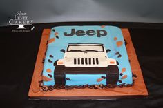 Custom cakes, special occasion cakes, wedding cakes, and cupcakes serving Olathe and greater KC area. Birthday Treats, 40th Birthday, Birthday Cakes, Jeep Cake, Driver's License, Kids Diary, Wrangler Jeep, Just Cakes, Cake Images