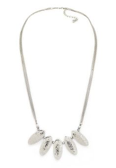 Necklace Silver Statement