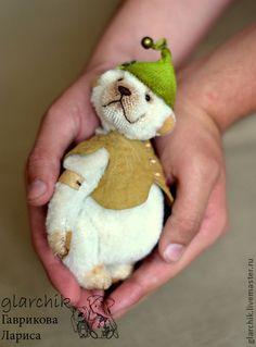 Мишки Тедди ручной работы. Ярмарка Мастеров - ручная работа Чива эльфомедведик. Handmade.