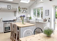 My Kitchen Diner Renovation (with Before + After pics) | Fifi McGee | Interiors + Renovation Blog Country Kitchen Diner, Open Plan Kitchen Diner, Country Kitchen Designs, New Kitchen, Country Kitchens, Kitchen Ideas, 1930s House Renovation, 1930s House Interior, Kitchen Interior