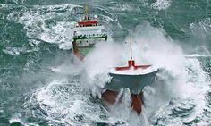 ship in storm Sea State, Rogue Wave, Great Lakes Ships, Wild Waters, Big Sea, Riders On The Storm, Rough Seas, Abandoned Ships, Merchant Navy