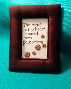 Satin Padded Frame with Quote Framed Quotes by AnotherFRcreation