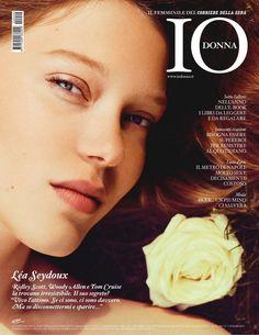 Lea Seydoux for IO Donna December 2010