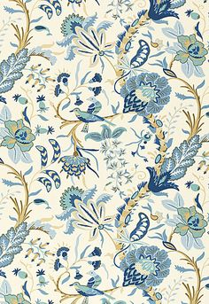 I love this and it does remind me of one of my favorite places in London ...    Westbourne Grove Schumacher Fabric